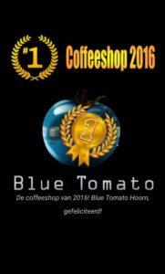 Blue Tomato coffeeshop van 2016